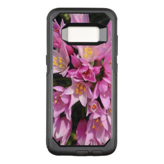 Tropical Pink and Yellow Flowers OtterBox Commuter Samsung Galaxy S8 Case