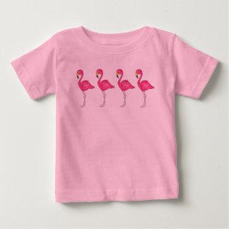 Tropical Pink Flamingo Flamingos Bird Birds Tee