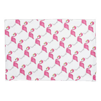 Tropical Pink Flamingo Flamingos Bird Pillowcase