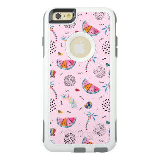 Tropical Pink Memphis Style Pattern OtterBox iPhone 6/6s Plus Case