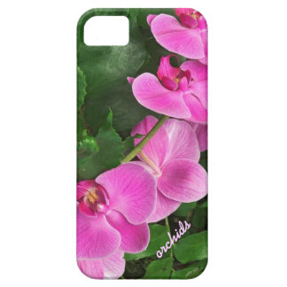 Tropical Pink Orchid iPhone 5 Case