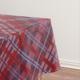 Tropical Plaid Tablecloth