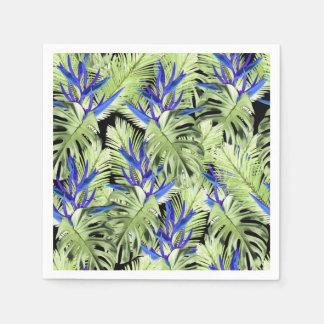 Tropical plant 2 . disposable napkins