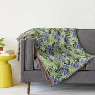 Tropical plant 2 . throw blanket