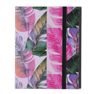 Tropical Plant Pattern iPad Case