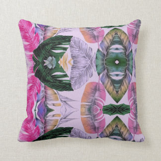 Tropical Plant Pattern Pillow Home Decor