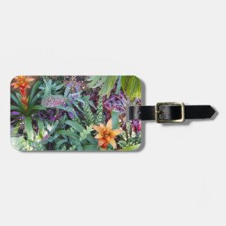 Tropical Plants and Bromeliad Bag Tag