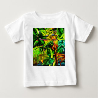 Tropical Plants Baby T-Shirt