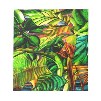Tropical Plants Notepad