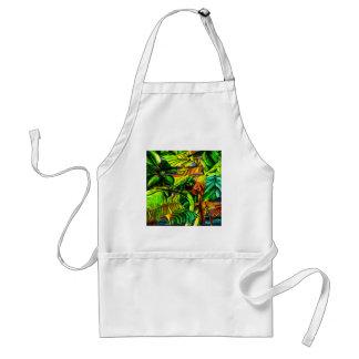Tropical Plants Standard Apron