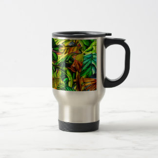 Tropical Plants Travel Mug