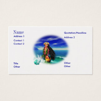 Tropical Pleasures  Business Cards