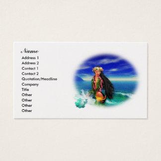 Tropical Pleasures Business Cards 2