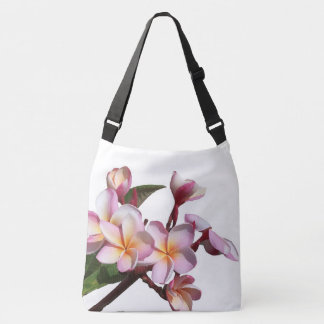 Tropical Plumeria Flowers Tote Bag