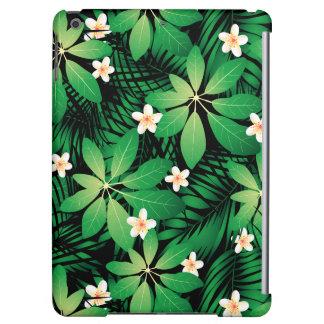 Tropical plumeria lush forest cover for iPad air