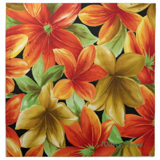 Tropical Print Napkin