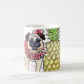 Tropical Pug Mug