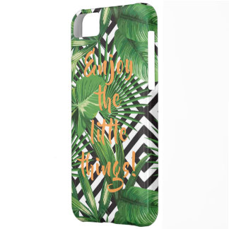 Tropical Quote iPhone 5C Cover