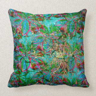 "Tropical Rain Throw Pillow 20"" x 20"""