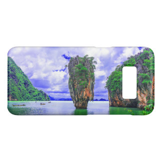 Tropical Rainforest Island cliffs Case-Mate Samsung Galaxy S8 Case