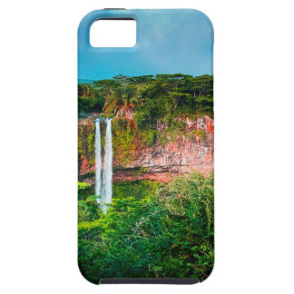 Tropical Rainforest Waterfall iPhone 5 Covers