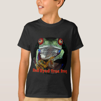 Tropical Red Eyed Tree Frog from Junglewalk.com T-Shirt