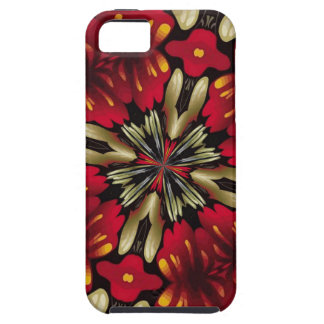 Tropical Red Mandala Kaleidoscope Case For The iPhone 5