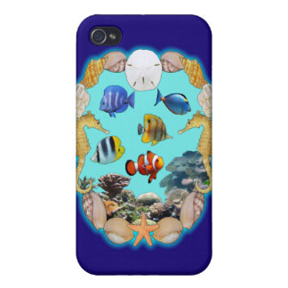 Tropical Reef Case For The iPhone 4
