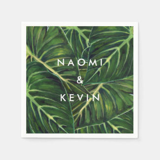 Tropical Romance / Napkin Disposable Napkin