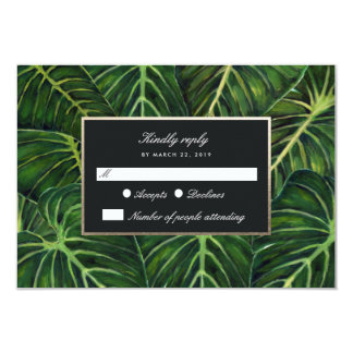 Tropical Romance / RSVP Card