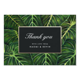 Tropical Romance / Thank You Card