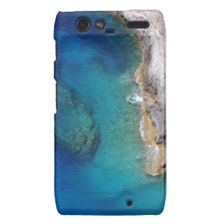 Tropical Rugged Coral Reef Droid RAZR Cases