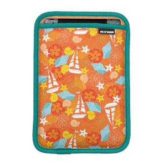 Tropical Sailboat Pattern Sleeve For iPad Mini