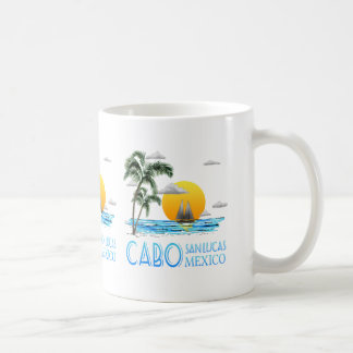 Tropical Sailing Cabo San Lucas Mexico Coffee Mug
