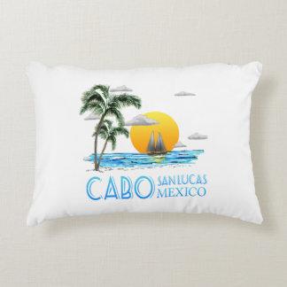 Tropical Sailing Cabo San Lucas Mexico Decorative Pillow