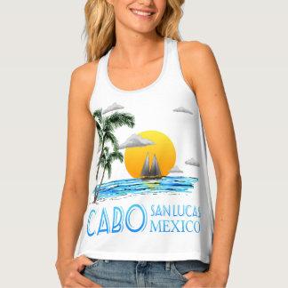 Tropical Sailing Cabo San Lucas Mexico Tank Top