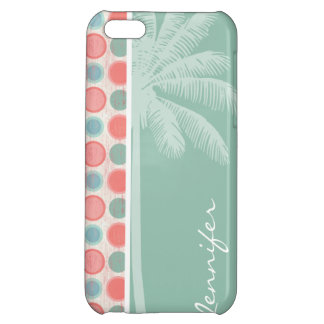 Tropical Salmon, Coral Pink, & Seafoam iPhone 5C Case