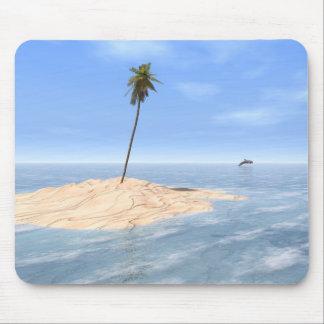"""Tropical Sandbar"" Mousepad"