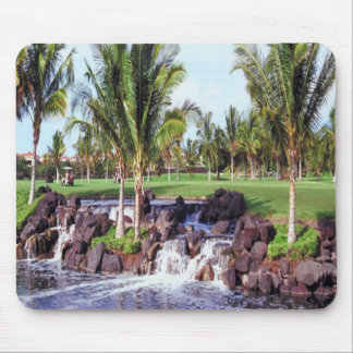 Tropical-scene mpusepad mouse pad