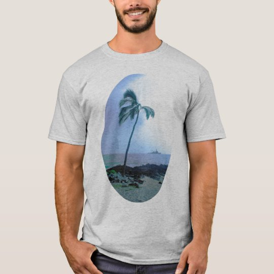 TROPICAL SCENE T-SHIRT