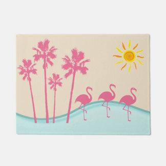 Tropical Scenic Doormat
