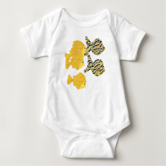 Tropical School Baby Bodysuit
