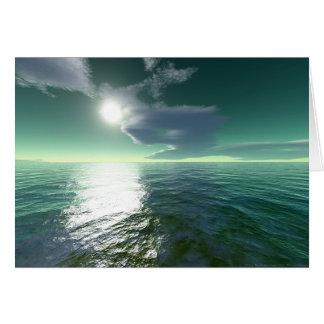 Tropical Sea (card) Card
