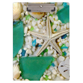 Tropical Sea Life Theme Clipboard