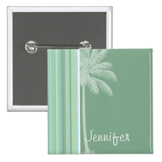 Tropical Seafoam Sage Green Baby Blue Buttons
