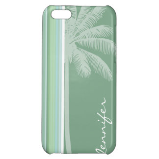 Tropical Seafoam, Sage Green, & Baby Blue iPhone 5C Cover