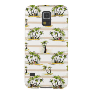 Tropical Shack And Palms Galaxy S5 Cases