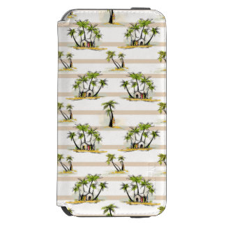 Tropical Shack And Palms Incipio Watson™ iPhone 6 Wallet Case