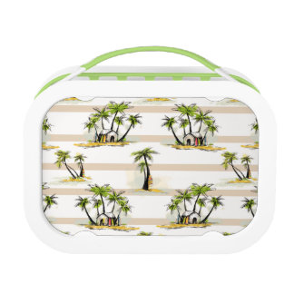 Tropical Shack And Palms Lunchboxes