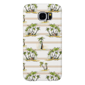 Tropical Shack And Palms Samsung Galaxy S6 Cases